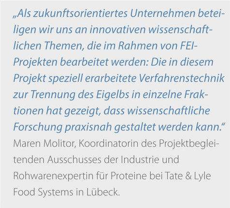 Zitat Molitor, Tate & Lyle Food Systems